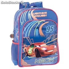Mochila Adaptable Disney Cars Neon (30x40x16cm) 11135 PPT02-11135