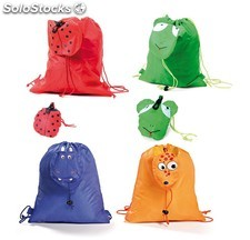 Mochila animals blanco