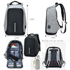 Mochila antirobo con cargador power bank bluetooth altavoz 4000mah