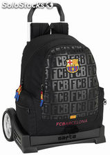 Mochila Barcelona Black con Carro Evolution