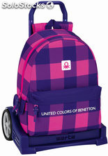 Mochila Benetton Square con Carro Evolution