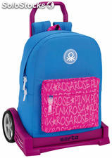 Mochila Benetton Wording con Carro Evolution