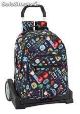 Mochila Blackfit8 Bit con Carro Evolution