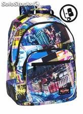 Mochila Blackfit8 Cities Doble Reforzada