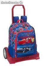 Mochila Cars 3 con Carro Evolution