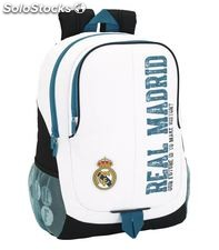 Mochila day pack adap.carro real madrid 1ª equipacion 17/18 safta 611754665