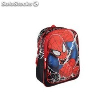 Mochila Doble Adap. Spiderman Marvel 31x42x13cm.