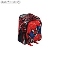 Mochila Doble Spiderman Marvel 28x34x10cm.