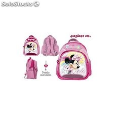 Mochila Escolar Rosa Minnie Mouse Disney ref. 0320