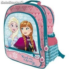 Mochila Frozen Disney adaptable 41cm