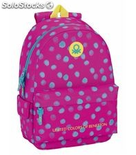 Mochila grande day pack adaptable carro dots benetton safta 611750758