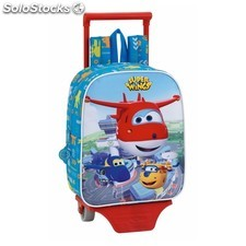 Mochila guarderia c/ruedas super wings
