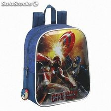 "Mochila Guarderia Capitan America ""Civil War"""