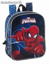 "Mochila guarderia spiderman ""GO spidey!"""