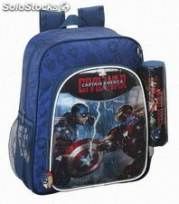 "Mochila Junior Capitan America ""Civil War"""