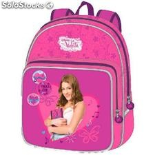 Mochila Junior Violetta Disney Love