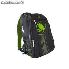 "Mochila KEEP OUT BK7G pro Gaming portátil 15.6"" negro/verde"