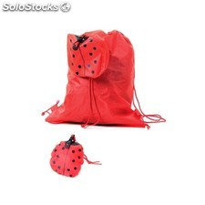 Mochila plegable animals rojo 8417-ro
