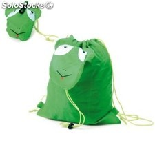 Mochila plegable animals verde