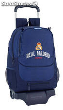 Mochila Real Madrid Basket con Carro