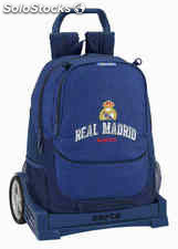 Mochila Real Madrid Basket con Carro Evolution