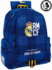 Mochila Real Madrid Blue Adaptable