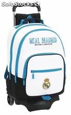 Mochila Real Madrid Doble con Carro