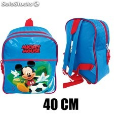 Mochila Relieve Mickey Mouse (40cm) 9678 PPT02-9678