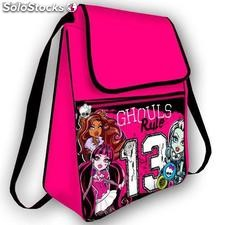 Mochila Saco con Solapa Monster High 13