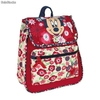 Mochila Solapa Natural Minnie Mouse
