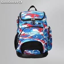Mochila speedo teamster backpack 35L multicolor azul