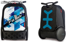 Mochila Trolley Roller Nikidom Cool Blue