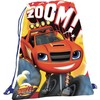 Mochilas Saco Blaze Monster Machines Zoom 31x39cm 15707 PPT02-15707