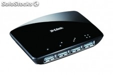 Modem d-link 4 port superspeed usb 3.0 hub