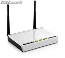 Modem router ADSL2 wireless-n 300MBPS W300D 4 LAN 10/100 2 antenne staccabil