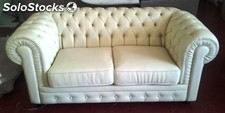 Modernes Ledersofa 1 (100% Made in Italy)