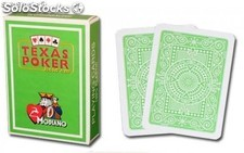 Modiano Texas Poker Jumbo verde claro