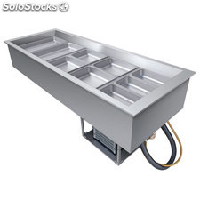 Modulo Salad Bar refrigerado Drop - In