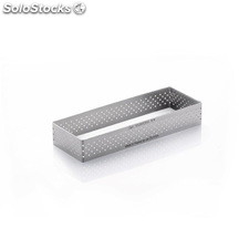 Molde perforado repostería De Buyer acero inoxidable 120x40x20mm GM379