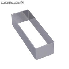 Molde repostería De Buyer rectangular acero inoxidable 30 x 43 x 124mm GM388