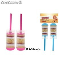 Moldes tarta lollipop, privilege, 2uds.