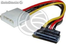 Molex Power Cable 4P-m (5.25) > 15P-h (sata-Layered) (CA21)