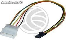 MOLEX Power Cable 4P-M (5.25) to 4P-H (power supply auxiliary Intel) (ML73)