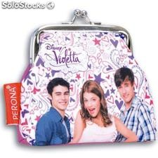 Monedero Clip Violetta Passport