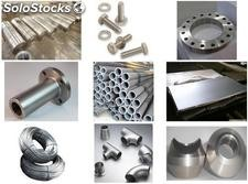 monel steel flange round bar wire rod fasteners tube pipe fittings forging plate