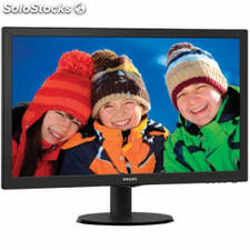 "Monitor led philips v-line 243v5lhab 23.6""/ 59.9cm fullhd 5ms 1000:1"