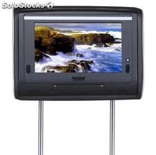 Monitor pantalla reposacabezas cabecero DVD para coche RC-7200 full touch screen