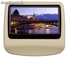 Monitor pantalla reposacabezas DVD coche rc-9900 game+FM+ir+sd+usb+altavoz+mp5