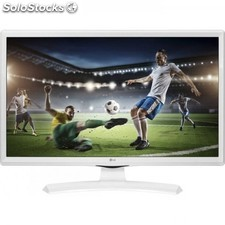 "Monitor tv Led 23.6"" lg 24MT49VW-wz hdmi hd ready blanco"