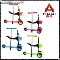 monopatines para niños 3 en 1 mini scooter